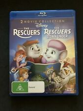The Rescuers  / Rescuers Down Under (Blu-ray, 1977) All Region