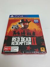 Red Dead Redemption 2 Ultimate Edition PS4 AU P45 BRAND NEW + Warranty!