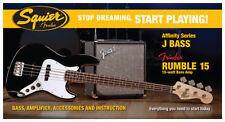 Guitarras y bajos Fender 4/4