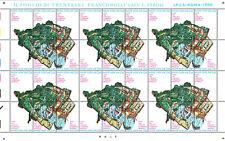 """Vaticano - 1996 - """"Patrimonio Mondiale"""" Minifoglio - nuovo - MNH"""