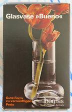 Blumenvase bueno von Thomas, für kleine Sträusse Glas originalverpackt