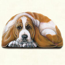 Fiddlers Elbow BASSET HOUND Dog Pupper Weight Paperweight Decoration Made in USA