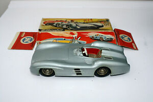 1950s JNF MERCEDES SILVER ARROW FRICTION DRIVE RACING CAR WESTERN GERMANY RARE ?