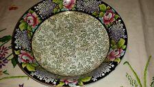 Royal Winton Grimwades dipinta a mano rose Crescione dish