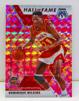 Dominique Wilkins 2019-20 CAMO PINK MOSAIC PRIZM Hall of Fame Card #294 Hawks SP