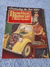 Vintage Practical Motorist & Motor Cyclist Magazine June 1955