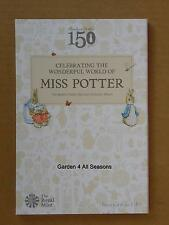The 2016 Beatrix Potter 50p (fifty Pence) Coin Hunt Collector Album Folder