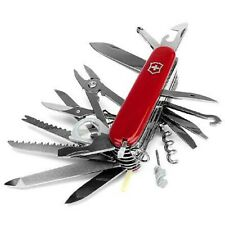 Swiss Army Original Knife, Swisschamp, Red, Victorinox 53501 & 1.6795-X4, NIB
