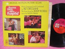 Buona Sera Mrs, Campbell Soundtrack LP