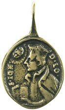 ST. IGNATIUS LOYOLA / ST. FRANCIS XAVIER bronze Medal, cast from 18th c original