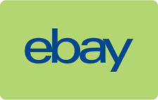 eBay Gift Card - $25 Mail Delivery