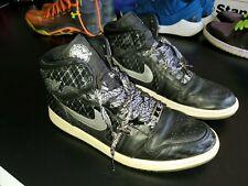 Air Jordan All Star Passport Retro 1 Black Silver Size 13 Sneakers Shoes High