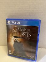 Game of Thrones: Season Pass Disc (Sony PlayStation 4, 2015) Telltale Series