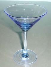 Kate Spade Larabee Dot Pop BLUE Martini Mini Tini Glass New