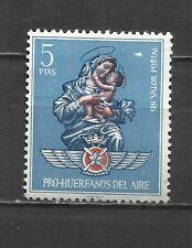 419D-SELLO FISCAL DE AVIACION HUERFANOS EJERCITO DEL AIRE 5  PESETAS, REVENUE