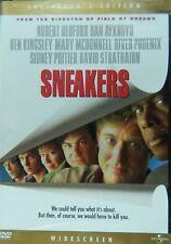 SNEAKERS (1992) Collector's Edition Robert Redford Dan Aykroyd Sidney Poitier