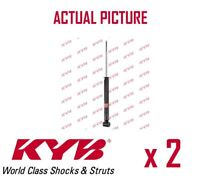 2 x NEW KYB REAR AXLE SHOCK ABSORBERS PAIR STRUTS SHOCKERS OE QUALITY 343285