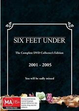 Six Feet Under Complete Series Season 1-6 New DVD Boxset Oz Edition Region 4