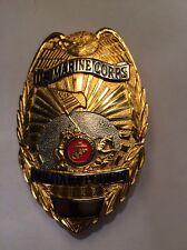 Obsolete U S Marine Corps Military Police (MP) badge - Full size