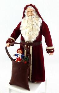 Dolls House Father Christmas Figure Santa Falcon Miniature People