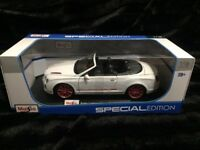 Bentley Continental Die Cast Maisto Special Edition 1:18 scale - White