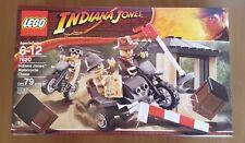 LEGO Indiana Jones Motorcycle Chase Set 7620 NEW Factory Sealed NISB Retired