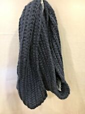 Merona Women's Chunky Knit Infinity Scarf NWT Target Navy Blue