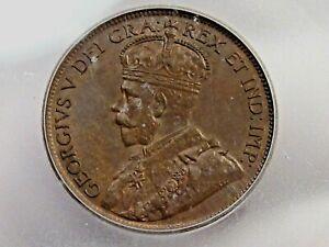BU 1919 Large Cent CANADA ICG MS64 BN. #10