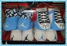 Nike Air Jordan Baby Boys Infant Newborn Booties 4 Pairs Crib Shoes Socks 0-6 M