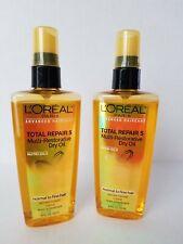 2 L'Oreal Advanced Total Repair 5 Multi Restorative Dry Oil Normal Fine 3.4 OZ