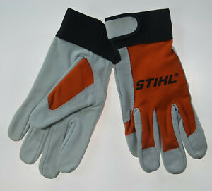 """STIHL SPECIAL ERGO WORK YARD GLOVES ONE Size S/M SMALL MED (8"""" TIP TO CUFF) NEW"""