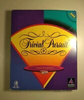 Trivial Pursuit: CD-ROM Edition (PC, 1997) BIG BOX COMPLETE NEAR MINT