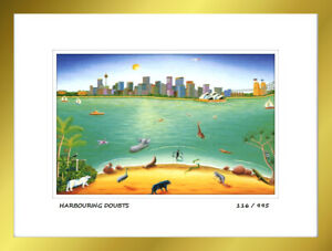 Heaven and Earth,''Harbouring Doubts'' Limited Edition Numbered Framed Art Print