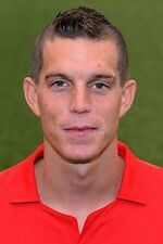 Football Photo>DANIEL AGGER Liverpool 2012-2013