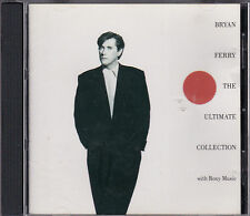 CD 15T BRYAN FERRY AND ROXY MUSIC THE ULTIMATE COLLECTION BEST OF 1988