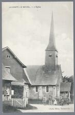 CPA 50 canton de Cormeilles  La Chapelle le Bayvel  l'église rare !!