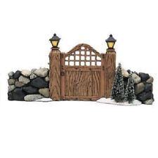 Dept 56 Accessories Village Fieldstone Entry Gate No. 52718 With Original Box