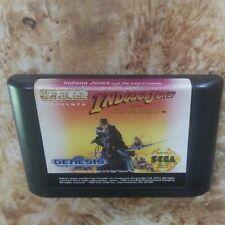 Indiana Jones and the Last Crusade (Sega Genesis, 1992) * Cartridge only *