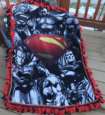 Superman fleece double panel blanket
