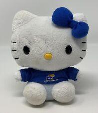 Sanrio Hello Kitty University Of Kansas Jayhawks Plush Stuffed Toy KU Plushland