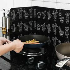 Home Kitchen Stove Foil Plate Prevent Oil Splash Cooking Hot Baffle Kitchen Tool