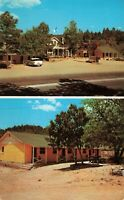 Postcard Prescott Pines Motel Arizona
