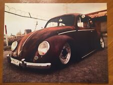 Tin Sign Vintage VW beetle 2