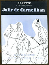 Julie de Carneilhan by Colette-French Edition in Dust Jacket-1952