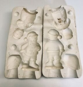 Vtg 1962 Duncan SM994 Mr.Mr.Santa Claus-Xmas Figure Student Casting Ceramic Mold