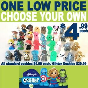 CHEAPEST WOOLWORTHS DISNEY PLUS OOSHIES Choose & Pick Your Own!