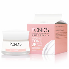 50g Pond's White Beauty Instabright Tone Up Milk Cream Brightening Moisturizer