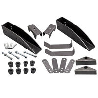 REAR LEAF SPRING RELOCATION POCKET KIT For CHEVY BELAIR 150 210 1955 1956 1957