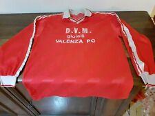 MAGLIA SHIRT VINTAGE FOOTBALL MATCH WORN RED WHITE N°14 BIANCO ROSSA .VALENZA PO