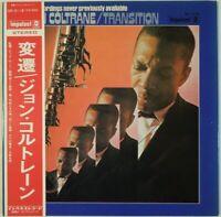 John Coltrane Transition Impulse! SR 3118 OBI JAPAN VINYL LP JAZZ